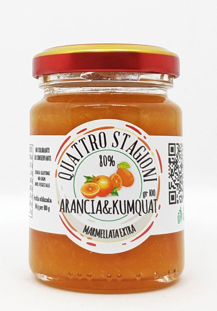 Marmellata Extra di Arance e Kumquat
